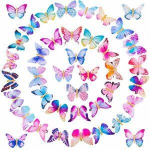 SIQUK 40 Pièces Papillon Epingle a Cheveux Arcs Épingle à Cheveux, Barrettes avec Papillon Pinces à Cheveux Papillon Clips de Cheveux Accessoire Cheveux pour Femmes Fille et Bébé