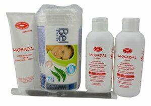 Soin 5 en 1 pour mains et pieds avec cosmétiques professionnels les callosités. 2 x Mosadal Lotion 250 ml – Crème hydratante urée 100 ml