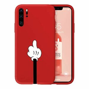 Suhctup Newest Conception de Modèle Couleur Coque Huawei Honor 9 [Coque Silicone Liquide] [Ultra-Mince] Anti-Rayure, Housse Protection Complète du Corps Silicone Gel Case Huawei Honor 9