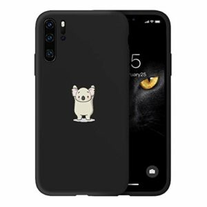 Suhctup Newest Conception de Modèle Couleur Coque Huawei P20 [Coque Silicone Liquide] [Ultra-Mince] Anti-Rayure, Housse Protection Complète du Corps Silicone Gel Case Huawei P20