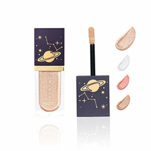 Surligneur liquide de maquillage, illuminateur liquide Glow, illuminateur chatoyant, Makeup Highlighter cosmétique de contour pour le visage et le corps (02)
