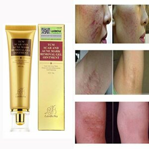 Symeas SCAR Acnes Vergetures, Acne Scar Removal Cream Acnés Scar Keloid Peau, Burns Removal Gel Crème 30g
