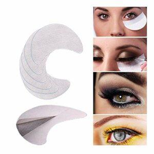 Trade shop traesio- 30Guide Pads Patch Yeux Chat Sticker cotons pour Eyeliner Fard à paupières Make Up