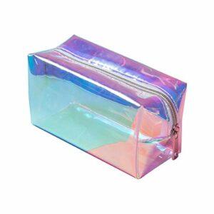 Travel TPU TPU Cosmetic Bag organisateur de maquillage pour femmes étanche sac à main sacs de toilette 16×8.5x9cm CHAOCHAO