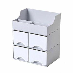 TYJKL Organisateurs cosmétiques de Bureau Bureau cosmétique Boîte de Rangement Multi-Couches Bijoux de tiroirs et Soins de la Peau Organisateur Produit pour la Chambre de la Commode