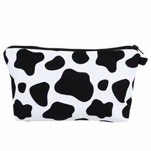 VALICLUD Modèle de Vache Sac Cosmétique Joli Maquillage Sac de Rangement Sac de Toilette Décoratif Trousse de Toilette Voyage Pochette pour Femme