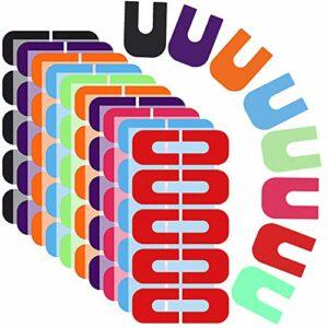 Ziyero 8 Exemplaires Autocollants Jetables de Protection des Ongles Manucure Protecteur Outils Autocollant Est Utilisé pour Le Polissage des Ongles, Le Dégradé de Couleur, Le Poinçonnage, Etc