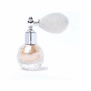 Allbestaye Spray surligneur en poudre Paillettes de diamant avec arôme Lumière perle chatoyante Cheveux Yeux Cou et Lèvres