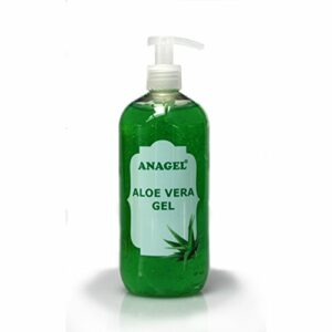 Aloe vera avec pompe doseuse – Traitement naturel de la peau après une exposition au soleil, une épilation ou le rasage (500 ml).