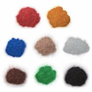 BANGSUN 8 pcs Slime Extra Fine Glitter Ongles Peau Cheveux Visage Ongles Eye Projets de Maquillage Longue Durée