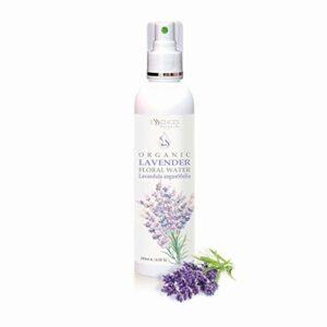 BIO Eau florale de Lavande (Lavandula angustifolia) 100% naturelle (250ml) qualité supérieure de notre propre entreprise familiale, spray comme tonique pour le visage et capillaire, soin de jour