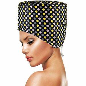 Casques Chauffant Cheveux Point PRETTY SEE Coiffeur Bonnet pour soins capillaires SPA à domicile
