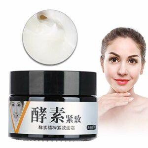 Crème visage raffermissante enzymatique, Lifting hydratant pour la peau, Crème amincissante raffermissante pour le corps et brûlure de graisse, Crème hydratante blanchissante anti-âge