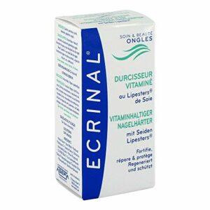 ECRINAL Durcisseur pour ongles avec soie, 10 ml