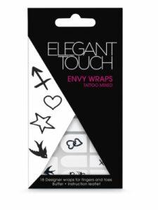Elegant Touch Nail Patch autocollants pour ongles, Motif tatouage