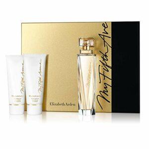Elizabeth Arden – My Fifth Avenue – Coffret Eau de Parfum Vaporisateur & Lait pour le Corps & Gel Douche – 100 ml