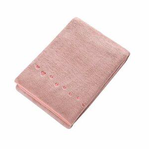 Éponges corp Serviette de bain en coton Ménage fort Absorbent Serviette de bain Salle de bains Hôtel est pas facile de perdre la série florale cheveux Serviettes de bain Éponge de douche ( Color : B )