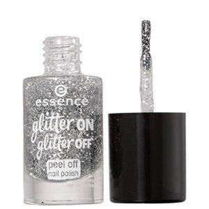 Essence, garnissage de ongles (Glitter on Glitter Peel Off 1)–1unité