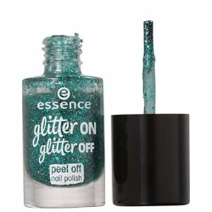 Essence, garnissage de ongles (Glitter on Glitter Peel Off 6)–1unité