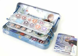 Frozen II Triple Layer Beauty Tin Set de Maquillage