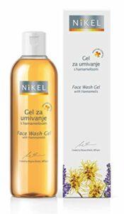 Gel de toilette pour le visage avec hamamelis – OKOLOGISCHES, gel léger avec hamamélis, orange et lavande Dermatologiquement adapté à tous les types de peau.
