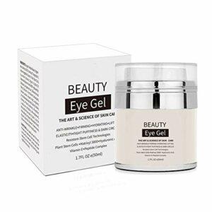 Gel pour les yeux pour les cernes, les poches, les rides, le raffermissement de la peau et le gel pour les yeux anti-âge efficace sous les yeux