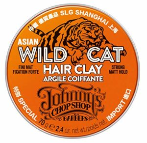 Johnny's Chop Shop Wild Cat Argile pour Cheveux