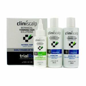 Joico Cliniscalp Trial Rx Kit – premiers stades de l'amincissement (pour cheveux naturels) 3 pièces
