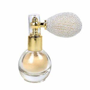 Poudreur Glitter Brighten Shimmer arôme surligneur Maquillage Pigment Poudre pour Visage Corps Cheveux – Blanc