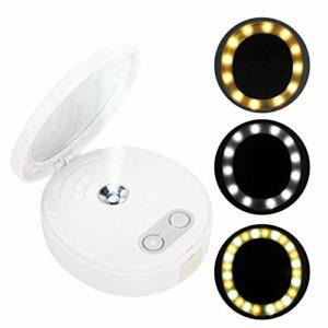 PulvéRisateur Nano 4 En 1, Miroir De Maquillage Pliable Portable De 25 Ml