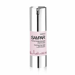 Sampar – Peeling Equilibre Moussant – Soin Exfoliant et Détox Visage – Sans Grain, Sans Colorant – Tous Types de Peau, même Sensible – Flacon Pompe 30ml