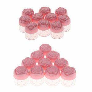 Sharplace 20Pcs 20g Vide En Plastique Maquillage Crème Lotion Stockage Cantainers À Lèvres Cas