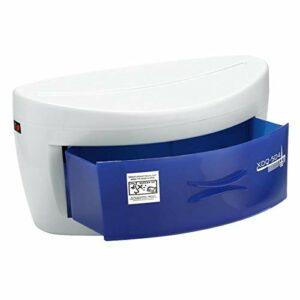 Tiroir de désinfection UV Boîte de stérilisateur à l'ozone Pince à ongles Pince à épiler Brosse à dents Ménage Lampe germicide ultraviolette pour téléphone, outils tatouage spa salon,30 * 16 * 18cm
