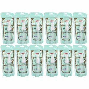 Uxsiya 50 ML atomiseur Pet voyageant conteneurs liquides vides pour l'aromathérapie pour Le Voyage pour Le Maquillage pour Les huiles essentielles