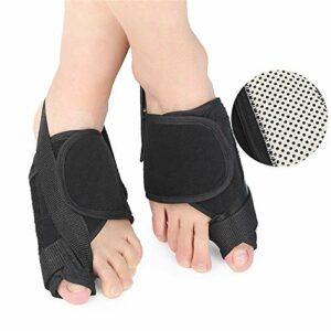 YoLiy Soins Toe Big Thumb Toe valgus Heat Toe Splitter Overlap Bending Convient for Chaussures de Sport Souliers Simple Correcteur Toe (Color : Multi-Colored, Size : M)