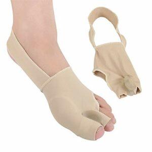 YoLiy Soins Toe Deux Pieds Pied Protecteur Splitter Toe Sweat Absorbant Flexible élastique Utilisation Quotidienne Correcteur Toe (Color : Multi-Colored, Size : S)