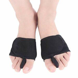 YoLiy Soins Toe Pouce valgus revêtement de Pied Forefoot Soins Toe résistant à l'usure Protection des Pieds Toe Split Correcteur Toe (Color : Multi-Colored, Size : Free Size)
