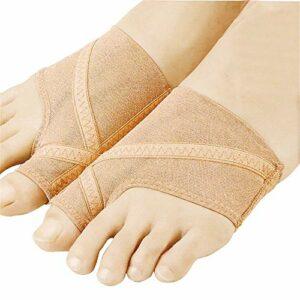 YoLiy Soins Toe Séparateur Toe Unisexe sain Toe Eversion Chaussette Protège Couverture Sweat et Respirante Jour et de Nuit Correcteur Toe (Color : Multi-Colored, Size : S)