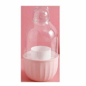ZAJ Boîte à Rouges à lèvres Maquillage Convient à la Salle de Bains Comptoir à la Chambre Commode à la poussière et à l'organisateur de Maquillage imperméable (Color : Small, Taille : Pink)
