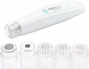 ZNXY Microneedling Système Derma Stylo Hydra Pen H2 4 Vitesses réglables Affichage LED avec 4 Vitesses pour Vergetures, Cicatrice D'acné, Rétrécissement des Pores Kit de Maquillage beauté