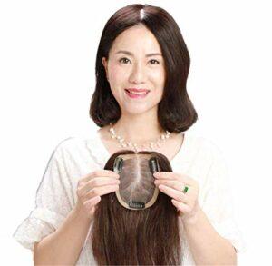 3 'X 4.7' attaché à la Main Couronne Topper postiche Femmes Pince à Cheveux dans Les Toppers de Cheveux pour Les Femmes Accessoires de Maquillage