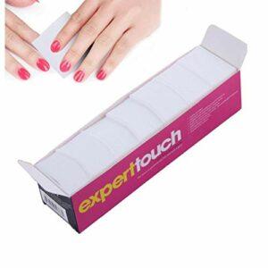 325 Pcs charpie ongles Wipe tampons de coton Nail Art Gel Polish Remover doux coton Absorbant lingette pour cheveux ou magasin de bricolage Utilisation