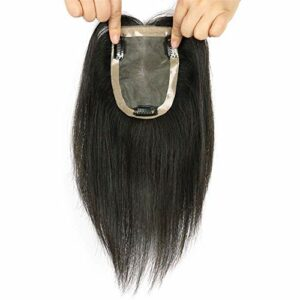 3.5 'X 5.5' postiches Invisibles de la Couronne supérieure pour Les Femmes 's Toppers de Cheveux Humains pour Les Accessoires de Maquillage de Cheveux clairsemés