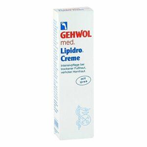 3x Soin Gehwol Crème lipidro 3x 125ml pieds Crème pour les pieds à l'urée