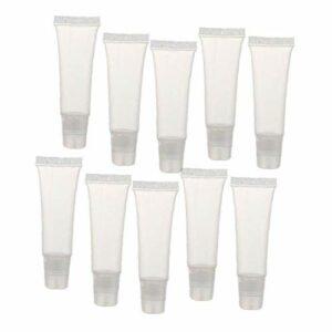 8g Lip Gloss Tubes Mini clair Lip Gloss Balm Videz Container doux Tubes Maquillage Boîte pour Femmes Filles 36 Pcs