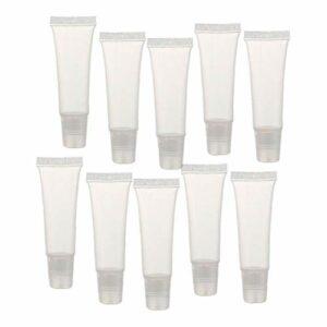8g Lip Gloss Tubes Mini clair Lip Gloss Balm Videz Container doux Tubes Maquillage Boîte pour Femmes Filles 36 Pcs Souvenirs