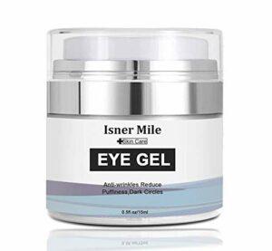 AJUMKER Gel pour les yeux anti-âge pour les yeux, formule sans huile, pour les cernes, rides, poches, crème pour les yeux, hydratant, gel d'acide hyaluronique