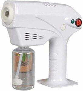 AMDIMOHB Désinfection d'intérieur Désinfection Pulvérisateur de pulvérisateur de pulvérisateur Nano, Pistolet à Vapeur de Cheveux multifonctionnels Nano Mister Cheveux Steamer Cheveux