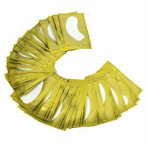 ANGGREK Sous Eye Eye Cils Gel Gel Patchs 10/30Paires 6Types Gel Oeil Pads Autocollant Oeil Pads Beauté Outil(1-vert 30PCS)