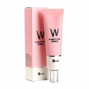 Apprêt pores W-Airfit, crème pour amorce de trou de 35 g, grands pores de couverture parfaite pour minimiser les pores de la couverture, peau éclatante pour apprêt de maquillage pour le visage (1 PC)